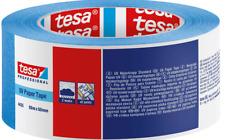 TESA Standard Cinta de Pintor Cinta Crepé Enmascarar Azul 50mm X 50m UV7 Día