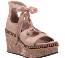 OTBT Kentucky in Copper Tie Wedge Sandal Women's sizes 6-10/NEW!!!