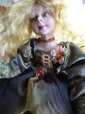 Enchanting Mark Roberts Or Wayne Kleski Artist Handcrafted Shelf Sitter Fairy!