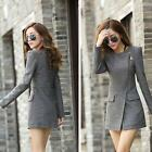 Women Winter Fashion Warm Long Coat Jacket Windbreaker Slim Outwear Parka Trench