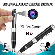 Mini Spy Camera Pen USB Hidden DVR Camcorder Video Recorder Full HD 1080P