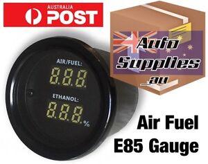 Ethanol Content Air Fuel Ratio 52mm Gauge for Flex Sensor & analog E85 output