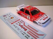 Decals / Calcas al agua escala 1/32 Audi quattro Belga Rally Bocles De Spa 1983