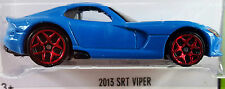 Hot Wheels 2015 HW Workshop 2013 SRT Viper Blue Dodge Mopar 1:64