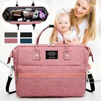 New Luxury Large Mummy Maternity Nappy Diaper Bags Baby Bag Travel Backpack