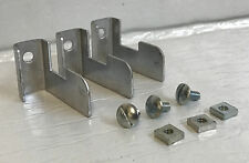 NEW SET OF 3 BRINKMANN GRILL SMOKER UPRIGHT SUPPORT BRACKETS PART 450-7023-1