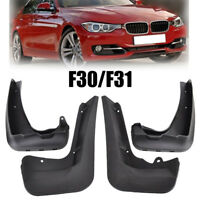 OEM STYLE FRONT+REAR MUDFLAPS FOR 12- BMW 3 SERIES F30 F31 MUD FLAP SPLASH GUARD