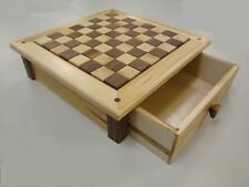 Woodworking Plans - Chess Board with drawer (paper plans)