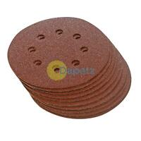 125mm Sanding Discs 5in Sanding Disc Hook & Loop 60 Grit 10Pk