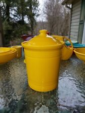 FIESTAWARE FIESTA  MEDIUM CANISTER CROCK daffodil yellow NEW