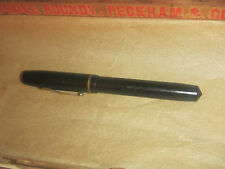 Vintage WASP Vacuum Fil Sub of Sheaffers Co. Black Fountain Pen Antique 1930-40s