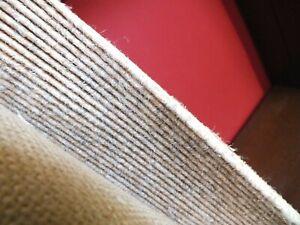 Teppichfliese Tretford Interland 515 Quarz 200x135cm Ziegenhaar Wolle Teppich