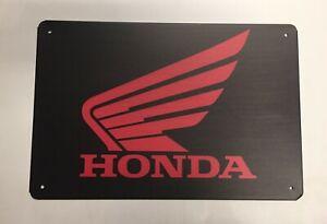Honda Style 1 Metal Tin Signs - Car Motorbike Civic Mechanic Workshop Man Cave