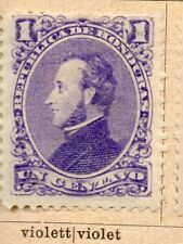 Honduras 1878-89 Early Issue Fine Mint Hinged 1c. NW-11866