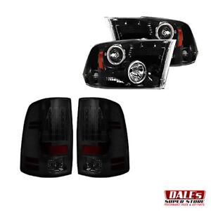 Recon Smoked Headlights & Tail Lights   Dodge Ram 1500 09-12 + 2500/3500 2010-13