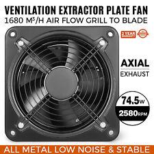 Aspiratore a Parete ø30cm Ventilatore Ventola Aspiratore Assiale Monofase