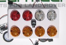 Land Rover Defender 90, 110, TD5, LED Light Set with flasher Relay, >94, BA9719