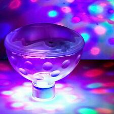 LED Wasserdichter Unterwasser Durable Lichtshow Lampe Partei Tub Licht Po VV11