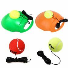 Tennis Training Tool Exercise Rebound Ball Trainer Practice Back Base Baseboard