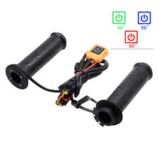 NEW 22MM Motorcycle Electric Heated Handlebar Grips Hand Heater Warmer w/ Switch