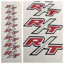 8pc R/T Dodge Durango Chrysler Brake Caliper Vinyl Sticker Decal Logo Graphic