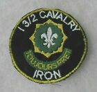 """""""I 3/2 CAVALRY"""" """"IRON""""  PATCH EMB ON TWILL        BILL WISE'S COLLECTION"""