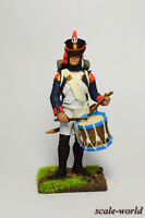 Tin soldier, miniature. The drummer of artillery.  54 mm