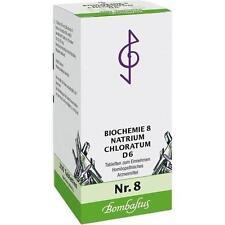 BIOCHEMIE 8 Natrium chloratum D 6 Tabletten 200St Tabletten PZN 1073722
