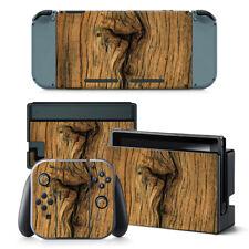 NINTENDO Switch Design pelle sventa Adesivo PROTEZIONI Set - vecchio legno Motif