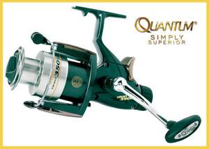Quantum Mr Pike The Releaser 460 Stationärrolle Freilaufrolle Hecht NEU