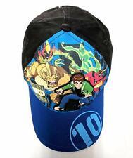 Childrens Childs Kids Boys Ben 10 Cartoon Network Beanie Hat And Gloves Set