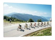 Tour de France 30X20 Inch Canvas - Cycling Framed Picture Wall Art Print