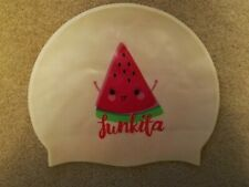 Funkita Watermelon Pink White Girls Swim Hat Cap, Great condition nearly new