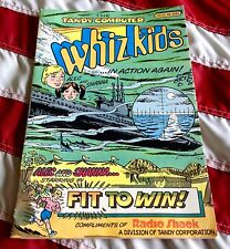 WHIZ KIDS - TANDY comic From 1988 RADIO SHACK