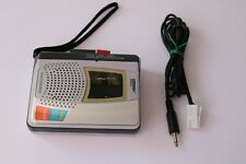 Omaga Walkman  Cassette Player 2 speed with land line cable for land line record