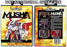 Musha - Sega Genesis Custom Case *NO GAME*
