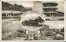 Real photo Bexhill 4 views excel 1941