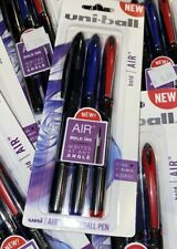 uni-ball® AIR Rollerball Pen, .7 mm, Assorted Ink, 3/Pack 070530007503 Red Blue