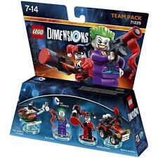 LEGO DIMENSIONS 71229 TEAM PACK - the Jocker Harley Quinn - costruzioni nuovo