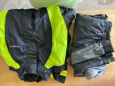 Motorcycle Rain Gear Jacket and Pants Olympia Sports