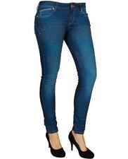 Damen-Jeans aus Denim Hosengröße W25 Röhrenjeans (en)