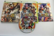 XBOX 360 SUPER STREET FIGHTER 4 IV PAL UK COMPLETO