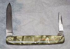 Schrade Cut. Co. Walden NY   2 blade pocket knife