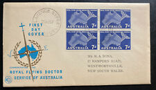 1957 Clarence Australia First Day Cover To Wentworthville Royal Flying Doctor