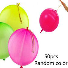 50X Punch Balloon Child Toy Birthday Party Favors Bag Kid Fillers Loot Game Gift