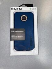Incipio Octane Case for Motorola Z2 Force - Navy Blue