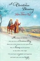 Helen Steiner Rice Religious Christmas Greeting Card  Lovely Verse Xmas Cards