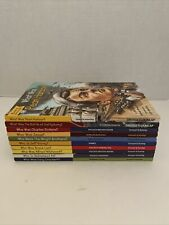 Lot of 10 Who Is Was What Where Children's Books - History Biography - VERY GOOD