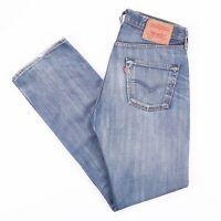 Vintage LEVI'S 501 Regular Straight Fit Men's Blue Jeans W30 L32