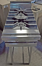 Jade Jmrh 2 Range 2 Burner 18 Heavy Duty Natural Gas